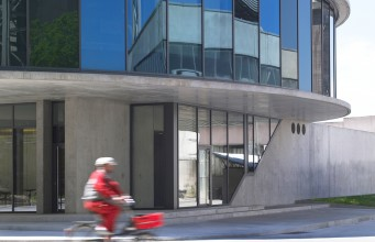 Betriebsgebäude Zementwerk HOLCIM