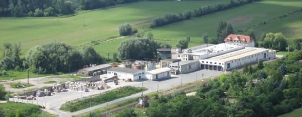 Luftbild Kartonfabrik Porstendorf